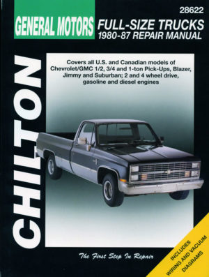 Chevrolet Pick-Ups (Chilton C28622)
