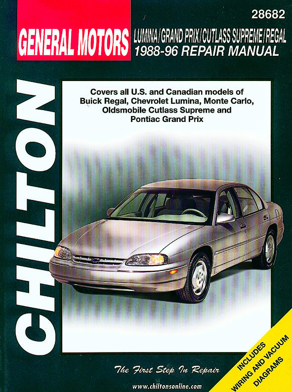 General Motors Lumina / Grand Prix / Cutlass Supreme / Regal (Chilton C28682)
