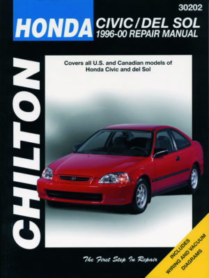 Honda Civic & del Sol (Chilton C30202)