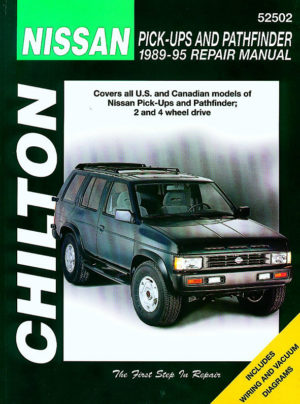 Nissan Pick-ups and Pathfinder (Chilton C52502)
