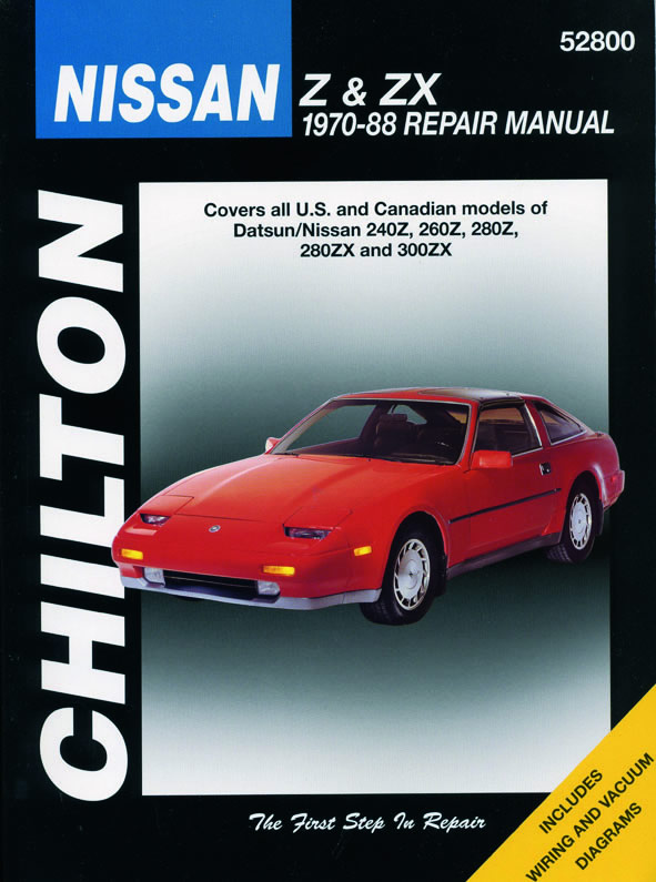 Nissan Z and ZX (Chilton C52800)