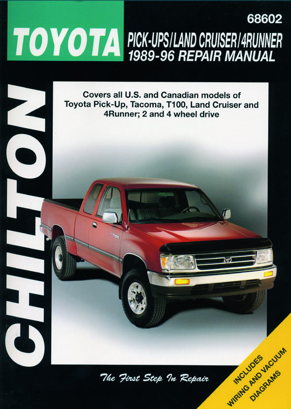 Toyota Pick-ups / Land Cruiser / 4 Runner (Chilton C68602)