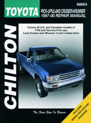 Toyota Pick-ups / Land Cruiser / 4Runner (Chilton C68604)