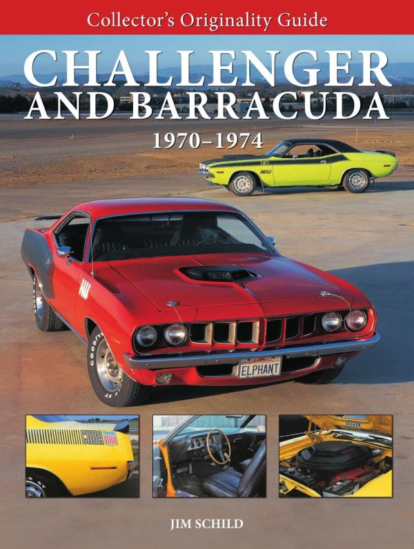 Collector's Originality Guide Challenger and Barracuda 1970 - 1974 (MBI 149577)