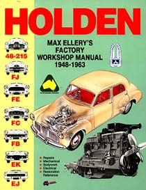 Holden 48-215, FJ, FE, FC, FB, EK & EJ  (1948-1963) Repair Manual (Max Ellery's EP.H1)