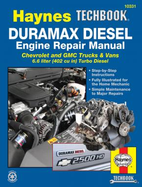 Duramax Diesel Engine Repair Manual (Haynes 10331)