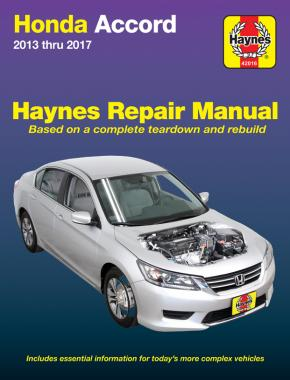Honda Accord 2013-2017 (Haynes 42016)