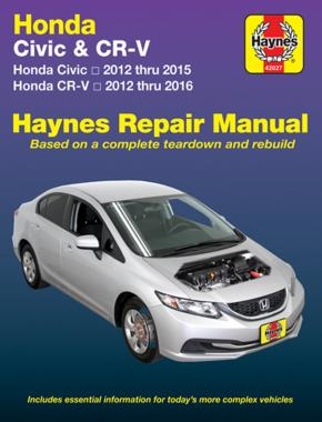 Honda Civic & CR-V 2012 - 2016 (Haynes 42027)