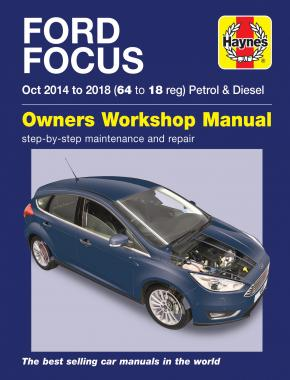 Ford Focus Petrol and Diesel 2014 - 2018 (Haynes 6417)