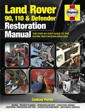Land Rover 90,110 and Defender Restoration Manual (2nd Edition) (Haynes H5479)