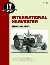 International Harvester 460, 560, 606, 660 & 2606 (IT Shop IH-25)