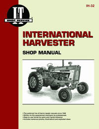 International Harvester 706 to 21456 (IT Shop IH-32)