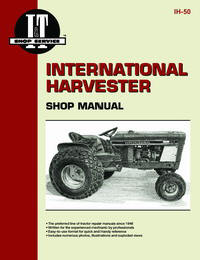 International Harvester Int'l Cub 154 Lo-Boy to Int'l Cub Lo-Boy (IT Shop IH-50)