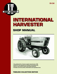 International Harvester 3088, 3288, 3488 Hydro & 3688 (IT Shop IH-54)