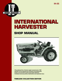 International Harvester 234, 234 Hydro, 244 & 254 (IT Shop IH-55)