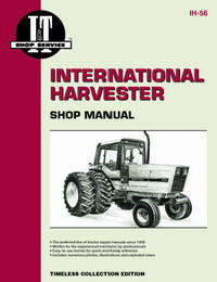International Harvester Shop Manual models 5088, 5288 & 5488 (IT Shop IH-56)