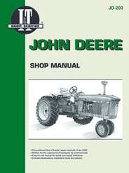John Deere 3010 to 6030 Petrol & Diesel (IT Shop JD-203)