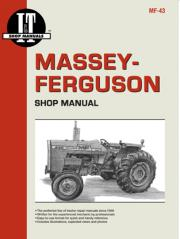Massey-Ferguson Shop Manual models MF255, MF265, MF270, MF275 & MF290  (IT Shop MF-43)