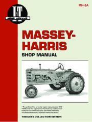 Massey-Harris 21 Colt, 23 Mustang, 33, 44 Special, 55 & 555  (IT Shop MH-5A)