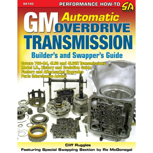 CarTech SA Design SA140 GM Automatic Overdrive Transmission