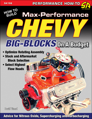 CarTech SA Design SA198 David Vizard's Max Performance Chevy Big Blocks on a budget